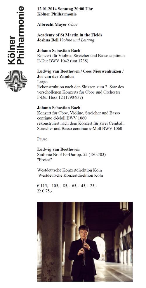Koelner-philharmonie-veranstaltung beethoven oboe koncert