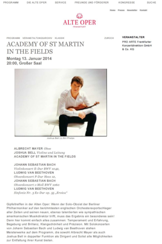 Alte oper academy of st martin in the fields beethoven nieuwenhuizen